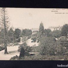 Postales: POSTAL MADRID PARTERRE DEL PARQUE Nº 722 HAUSER Y MENET SIN CIRCULAR. Lote 194513796