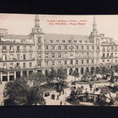 Postales: POSTAL MADRID PLAZA MAYOR EDICIONES FOTOTIPIA CASTEÑEIRA Nº 510 SIN CIRCULAR. Lote 194514713