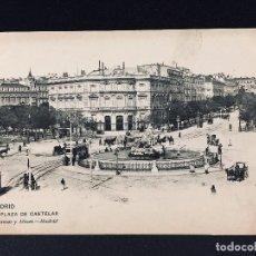 Postales: POSTAL MADRID PLAZA DE CASTELAR Nº 1137 HAUSER Y MENET SIN CIRCULAR. Lote 194515346