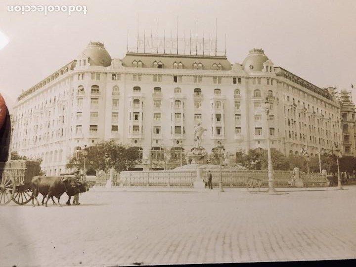 Postales: hotel palace madrid carro bueyes foto postal no ed no inscrita no circulada - Foto 2 - 194524402