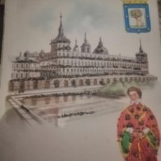 Postales: POSTAL MADRID EL ESCORORIAL . Lote 194548192