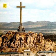 Postales: SANTA CRUZ DEL VALLE DE LOS CAÍDOS. 17 VISTA DE LA PARTE POSTERIOR. ESCUDO DE ORO. NUEVA. COLOR. Lote 194553452