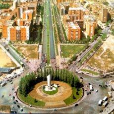 Postales: MADRID. 557 PLAZA DE CASTILLA. AVENIDA DEL GENERALÍSIMO. EDIFEX. NUEVA. COLOR. Lote 194553478