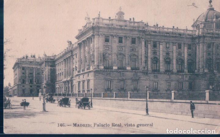 POSTAL MADRID - PALACIO REAL - VISTA GENERAL - LACOSTE 146 (Postales - España - Comunidad de Madrid Antigua (hasta 1939))