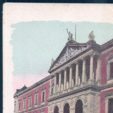 Postales: POSTAL MADRID - BIBLIOTECA NACIONAL - JOSE BLASS Y CIA - SIN DIVIDIR. Lote 194565257