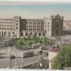 Postales: LOTE C-POSTAL MADRID PLAZA TOROS TRANVIAS. Lote 194593253