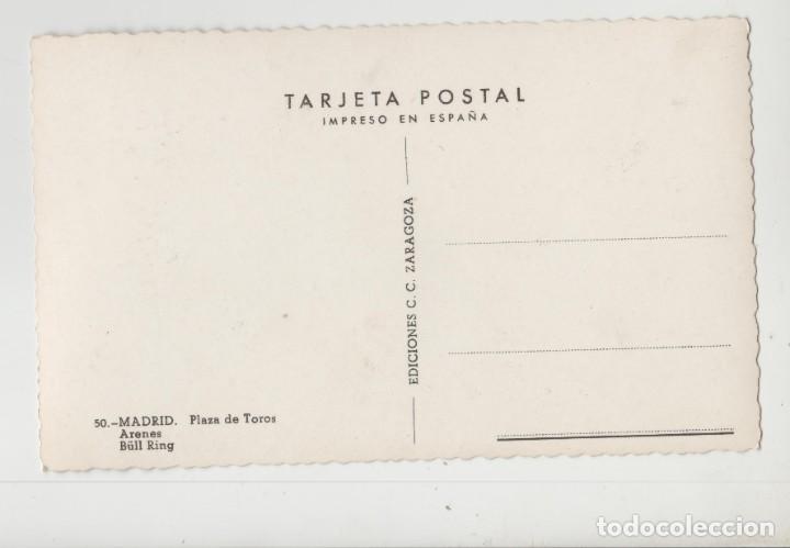 Postales: LOTE C-POSTAL MADRID PLAZA TOROS TRANVIAS - Foto 2 - 194593292