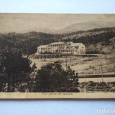 Postales: POSTAL -- SANATORIO HISPANO AMERICANO - GUADARRAMA - MADRID -- ESCRITA --. Lote 194610357