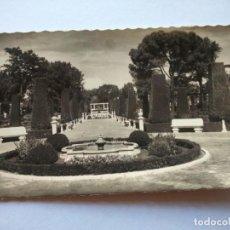 Postales: POSTAL -- MADRID - PARQUE ZOOLOGICO DEL RETIRO. JARDINES -- CIRCULADA --. Lote 194863340