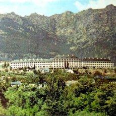 Postales: CERCEDILLA. 1 RESIDENCIA DEL BANCO DE ESPAÑA. VISTA GENERAL Y SIETE PICOS. ZASA. USADA CON SELLO. C. Lote 194872490