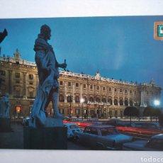 Postales: POSTAL 43 MADRID PLAZA DE ORIENTE PALACIO ROYAL DOMÍNGUEZ. Lote 194911420