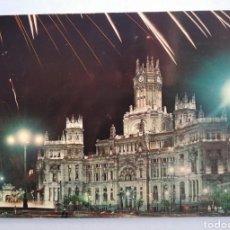 Postales: POSTAL 106 MADRID PALACIO DE LAS COMUNICACIONES AÑO 1962 CIRCULADA DOMINGUEZ. Lote 194913140