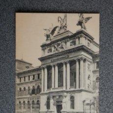 Postales: MADRID MINISTERIO DE FOMENTO FOTOTIPIA CASTAÑEIRA POSTAL ANTIGUA. Lote 194916473