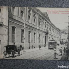 Postales: MADRID UNIVERSIDAD CENTRAL FOTOTIPIA CASTAÑEIRA POSTAL ANTIGUA. Lote 194916625