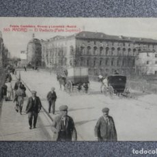 Postales: MADRID EL VIADUCTO FOTOTIPIA CASTAÑEIRA POSTAL ANTIGUA. Lote 194916746