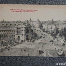 Postales: MADRID LOTE 6 POSTALES DE FOTOTIPIA CASTAÑEIRA Y UNA DE C. A. Y L. ANTIGUAS. Lote 194917060