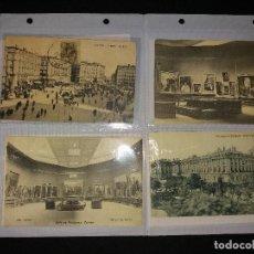 Postales: LOTE DE 8 POSTALES ANTIGUAS DE MADRID. Lote 194980185