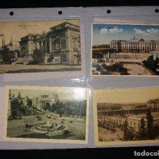 Postales: LOTE DE 10 POSTALES ANTIGUAS DE MADRID. Lote 194980688