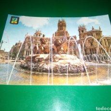 Postales: ANTIGUA POSTAL DE MADRID. LA CIBELES. AÑOS 60. Lote 195018758