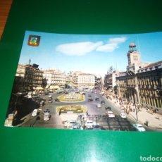 Postales: ANTIGUA POSTAL DE MADRID. PUERTA DEL SOL . AÑOS 60. Lote 195018860