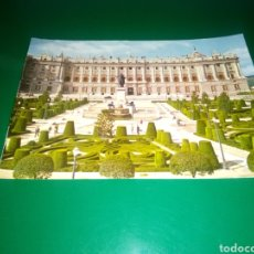 Postales: ANTIGUA POSTAL DE MADRID. PALACIO REAL. AÑOS 60. Lote 195020710