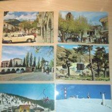 Postales: LOTE 6 POSTALES SIN CIRCULAR SIN ESCRIBIR ED. VISTABELLA , PUERTO DE NAVACERRADA LOS MOLINOS 60-70`S. Lote 195145186