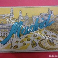 Postales: MADRID. BLOC POSTALES EN ACORDEÓN. AÑOS 1930S. Lote 195277625