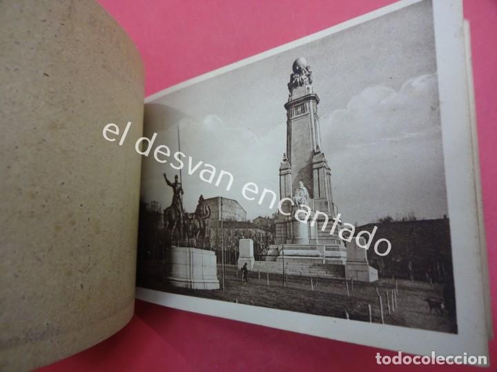 Postales: MADRID. Bloc postales con mapa desplegable. LA RUTA DEL TURISTA - Foto 4 - 195277812