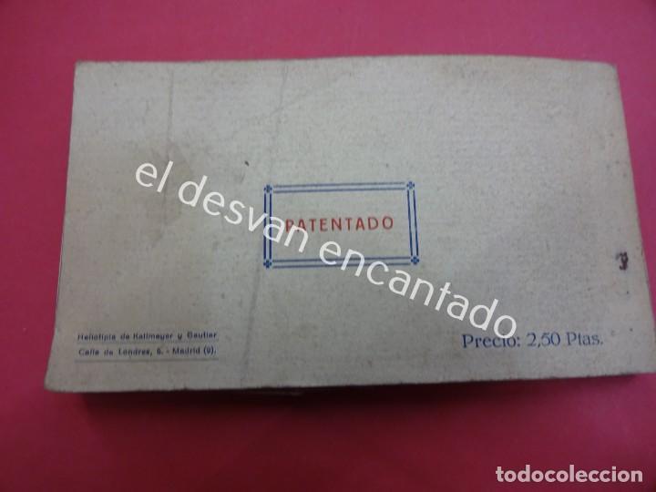 Postales: MADRID. Bloc postales con mapa desplegable. LA RUTA DEL TURISTA - Foto 6 - 195277812