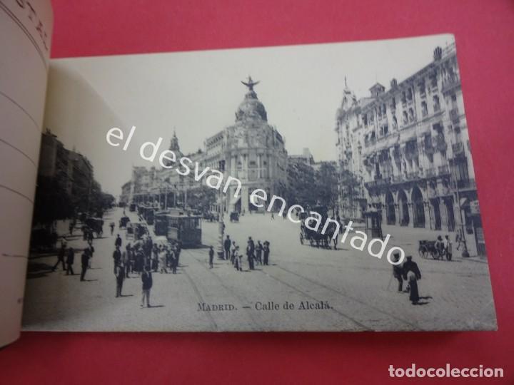 Postales: MADRID. Bloc Postal. Serie 3ª. 20 tarjetas (una doble) - Foto 2 - 195278363