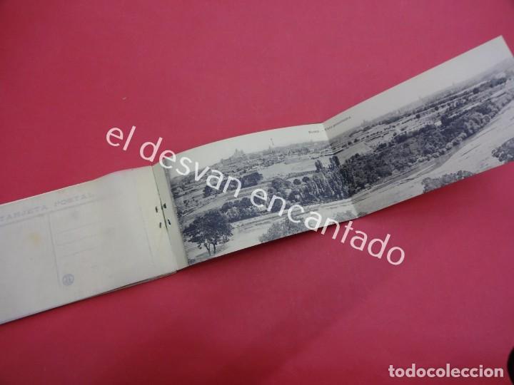 Postales: MADRID. Bloc Postal. Serie 3ª. 20 tarjetas (una doble) - Foto 4 - 195278363