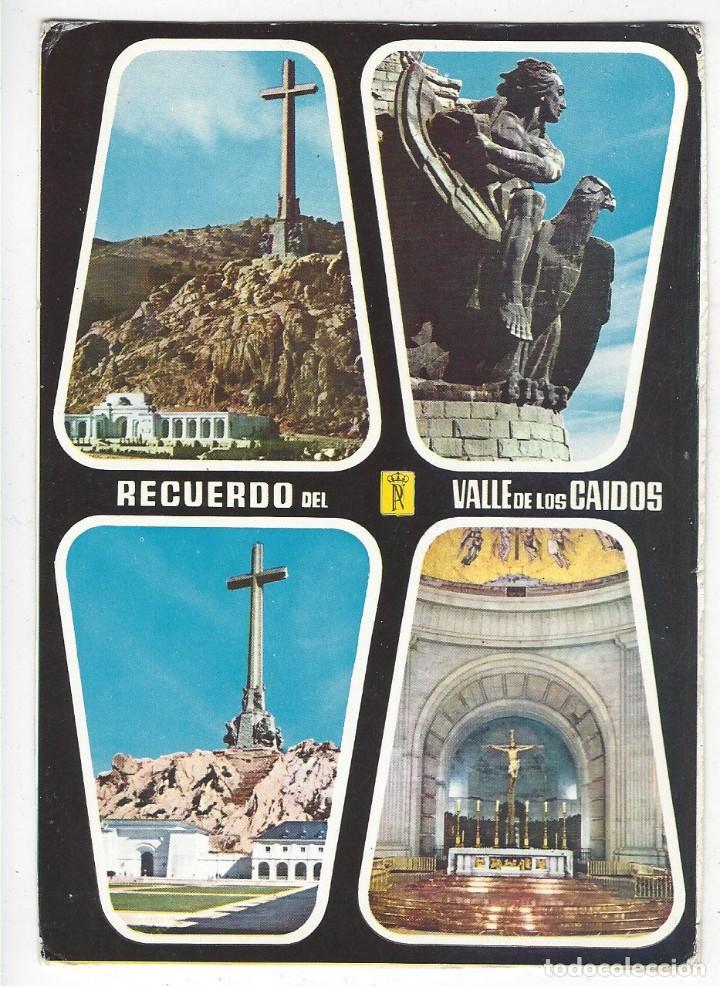 43 - RECUERDO DEL VALLE DE LOS CAIDOS (Postales - España - Madrid Moderna (desde 1940))