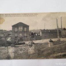 Postales: POSTAL DE MADRID. CIUDAD LINEAL. N. 28. LA FINCA VILLA DEL ANGEL EN LA CALLE DEL SAGRADO CORAZON, MA. Lote 195296150