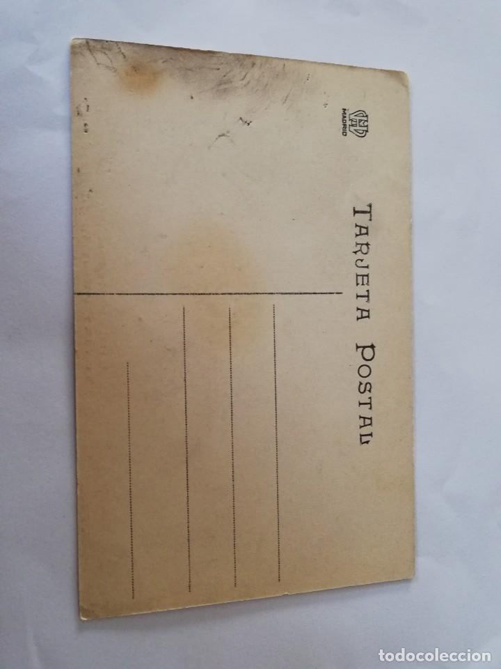Postales: POSTAL DE MADRID. CIUDAD LINEAL. N. 28. LA FINCA VILLA DEL ANGEL EN LA CALLE DEL SAGRADO CORAZON, MA - Foto 2 - 195296150