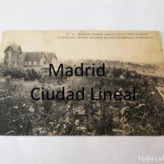 Postales: POSTAL DE MADRID. CIUDAD LINEAL. N. 17. VISTA TOMADA DESDE LA CASA DEL OBRERO PINTOR D. RICARDO FERN. Lote 195296338