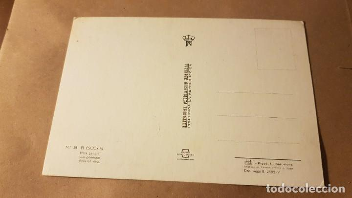 Postales: Postal. Madrid. El Escorial. Años 70. Sin circular - Foto 2 - 195316032