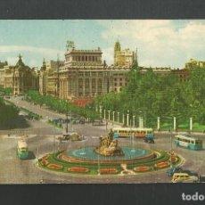 Postales: POSTAL CIRCUALADA - MADRID 9 - LA CIBELES Y CALLE DE ALCALA - EDITA PR. Lote 195325073