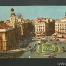 Postales: POSTAL CIRCULADA - MADRID 1 - PUERTA DEL SOL - EDITA PR. Lote 195325483