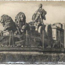 Postales: MADRID - FUENTE DE CIBELES - CIRCULADA AÑO 1950. Lote 195427256