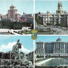 Postales: == B1539 - POSTAL - MADRID - ASPECTOS URBANOS. Lote 195494281