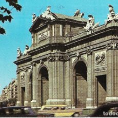 Postales: == B1540 - POSTAL - MADRID - PUERTA DE ALCALA. Lote 195494363