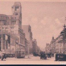 Postales: POSTAL MADRID - CALLE DE ALCALA - HELIOTIPIA DE KALLMEYER Y GAUTIER. Lote 195496735