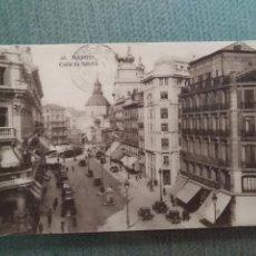 Postales: POSTAL MADRID CALLE DE SEVILLA. Lote 195580873