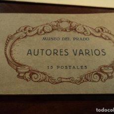 Postales: ANTIGUA COLECCION 15 POSTALES DE AUTORES VARIOS, MUSEO DEL PRADO HELIOTIPIA DE KALLMEYER Y GAUTIER. Lote 196144333