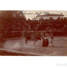 Postales: COLMENAR VIEJO.(MADRID).- CORRIDA DE TOROS 1914. POSTAL FOTOGRÁFICA.. Lote 196484181