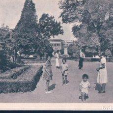 Postales: POSTAL MADRID - JUEGO DE LOS NIÑOS EN LOS PARQUES DE MADRID - EL RETIRO - PARTERRE - REAUD. Lote 196517377
