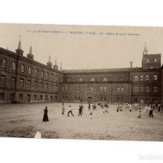 Postales: MADRID.- COLEGIO DE CHAMARTÍN S.J.- PATIO DE 2º DIVISIÓN.. Lote 196518580