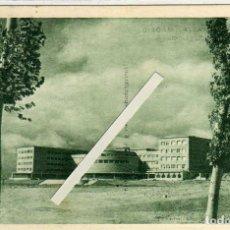Postales: BONITA Y RARA POSTAL - MADRID - CIUDAD UNIVERSITARIA - FACULTAD DE FILOSOFIA Y LETRA. Lote 196663926