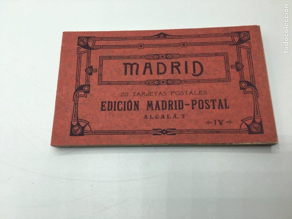 MADRID BLOC DE 20 TARJETAS POSTALES EDICIÓN MADRID - POSTAL ALCALA, 2 IV FOTOTIPIA HAUSER Y MENET (Postales - España - Comunidad de Madrid Antigua (hasta 1939))
