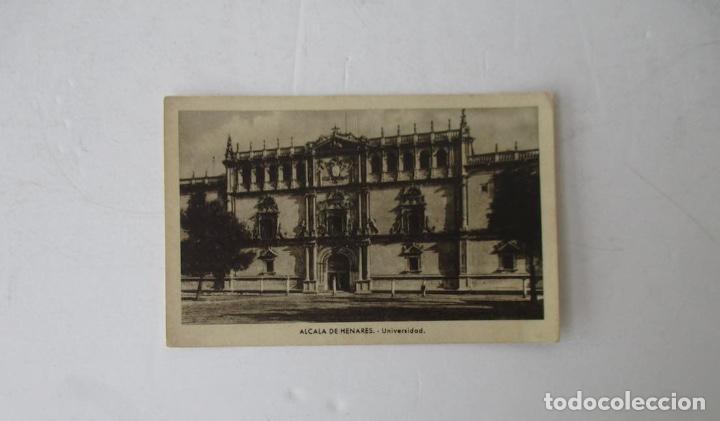 POSTAL ALCALA DE HENARES - UNIVERSIDAD (Postales - España - Comunidad de Madrid Antigua (hasta 1939))